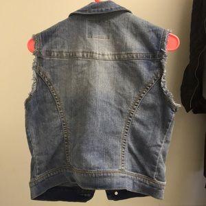 e2994fe1b2e7d American Rag Jackets   Coats - American Rag Small Sleeveless Denim Vest